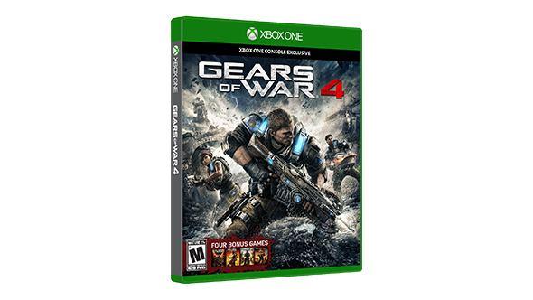 Kletterausrüstung Xbox One : Microsoft 4v9 00014 gears of war 4 videospiel xbox one